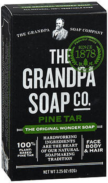 Grandpa's Original Wonder Pine Tar Soap - 3.25 oz