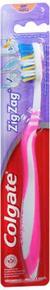 Colgate ZigZag Toothbrush, Soft - 1 ct