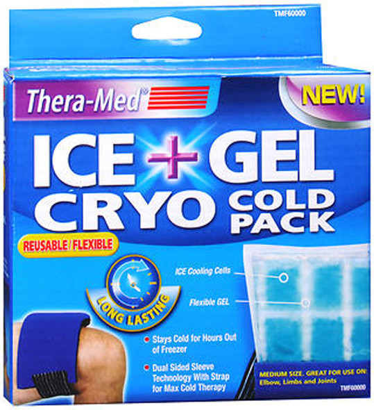 Thera-Med Ice + Gel Cryo Cold Pack Medium - Each