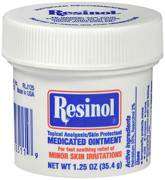Resinol Topical Analgesic/Skin Protectant Medicated Ointment - 1.25 oz