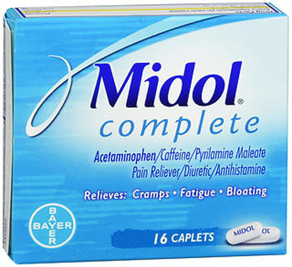 Midol Complete Caplets - 16 Caplets