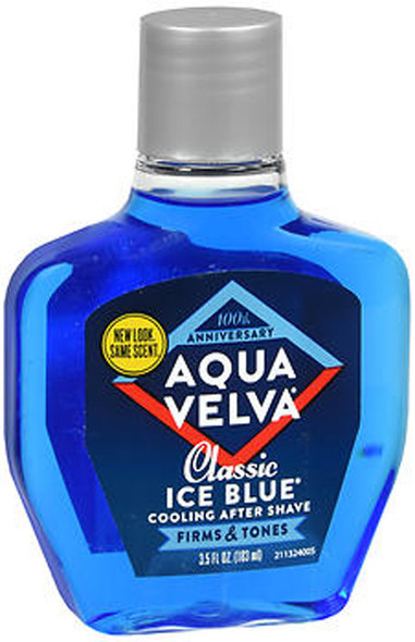 Aqua Velva Cooling After Shave Classic Ice Blue - 3.5 oz