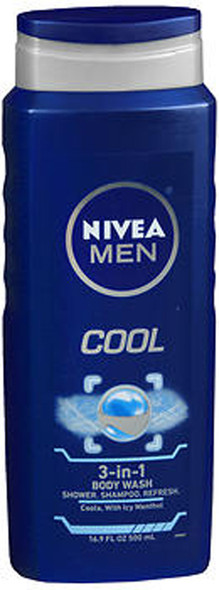 Nivea Men Cool 3-in-1 Body Wash - 16.9 oz