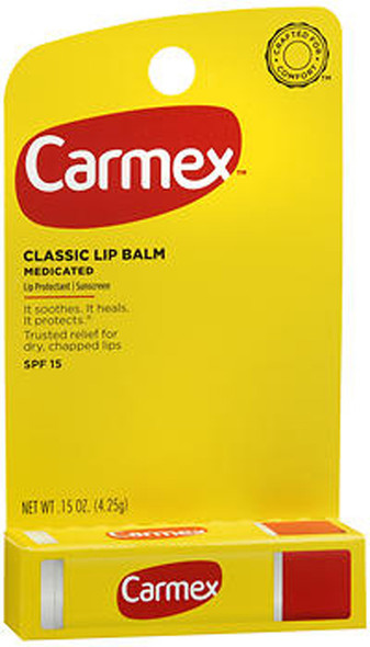 Carmex Lip Balm SPF 15 Original - 12 ct