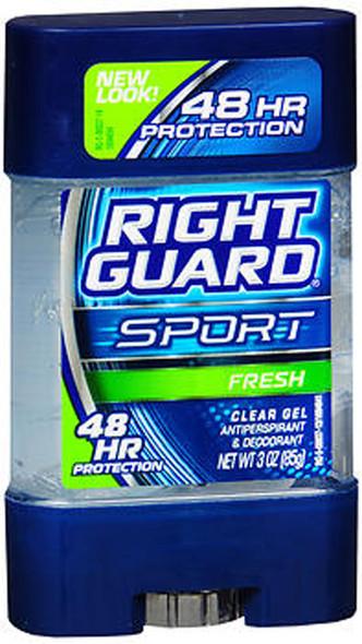 Right Guard Sport Antiperspirant & Deodorant Clear Gel Fresh - 3 oz