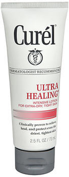 Curel Ultra Healing  Intensive Lotion, Extra Dry Skin - 2.5 oz