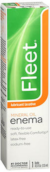 Fleet Mineral Oil Enema, Latex Free - 4.5 fl oz
