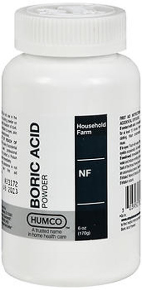 Humco Boric Acid Powder NF - 6 oz