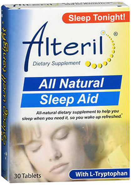 Alteril All Natural Sleep Aid Tablets Maximum Strength - 30 ct