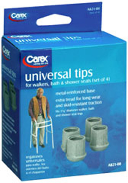 Carex Universal Tips, Set of 4