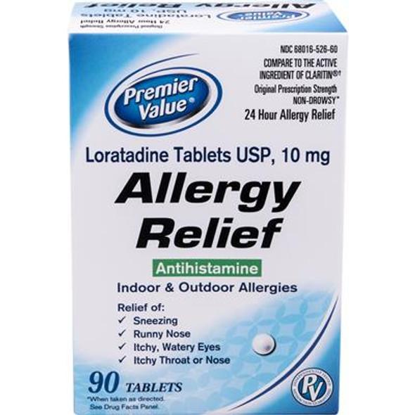 Premier Value Loratadine 10Mg - 90ct