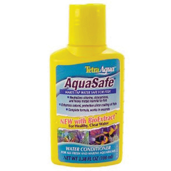 Aqua Safe Aquarium Conditioner, 3.3 oz - 1 Pkg