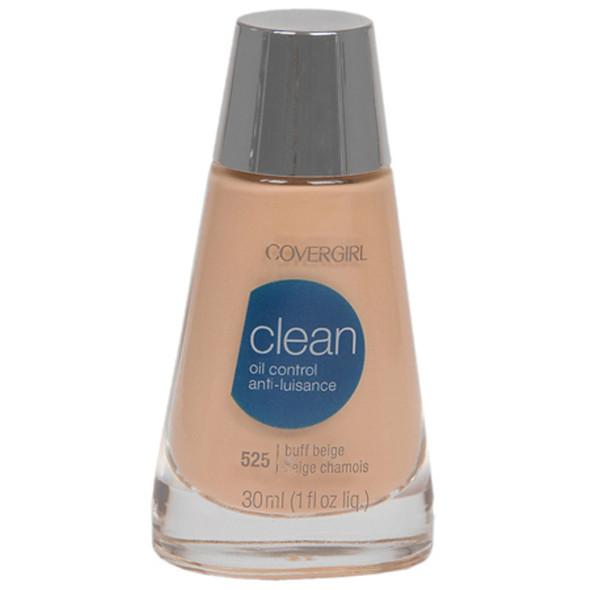 Covergirl Clean Oil Control Makeup, Buff Beige - 1 Pkg