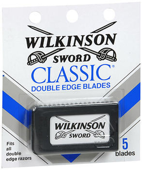 Wilkinson Sword Classic Double Edge Blades - 5 ct