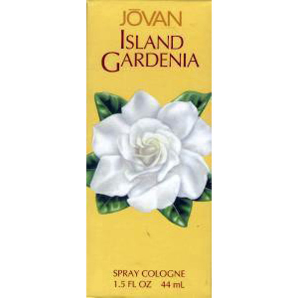 Jovan Island Gardenia Cologne Spray, 1.5oz - 1 Pkg