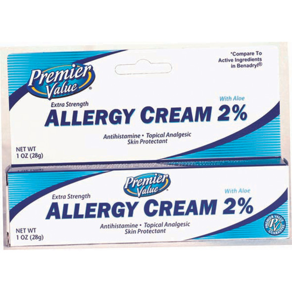 Premier Value Allergy Cream 2% - 1oz