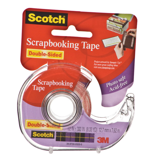 "Permanent Scrapbooking Tape, .5"" X 300"" - 1 Pkg"