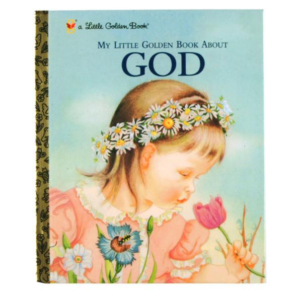 """Little Golden Book """"My Little Book About God"""" - 1 Pkg"""