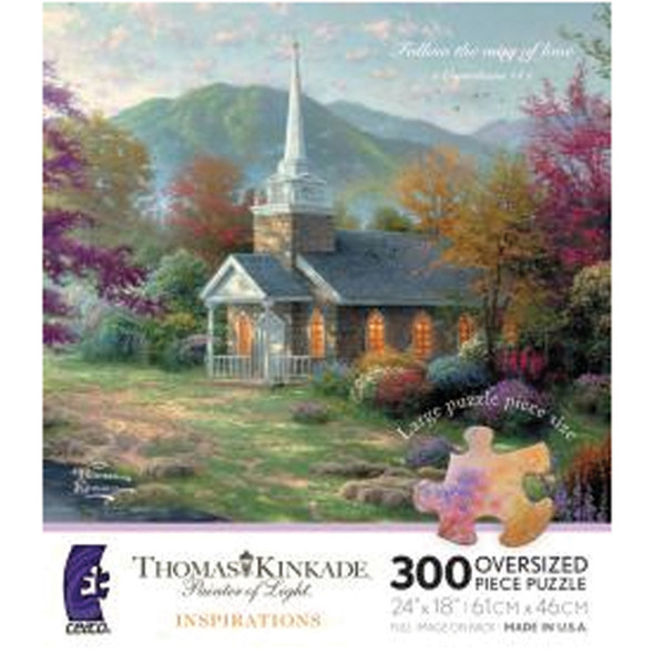 Thomas Kinkade Puzzle, 300pc