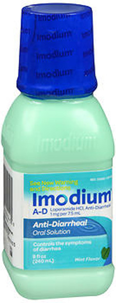 Imodium A-D Liquid Mint Flavor - 8 oz