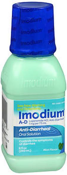 Imodium A-D Liquid Mint Flavor - 8 oz