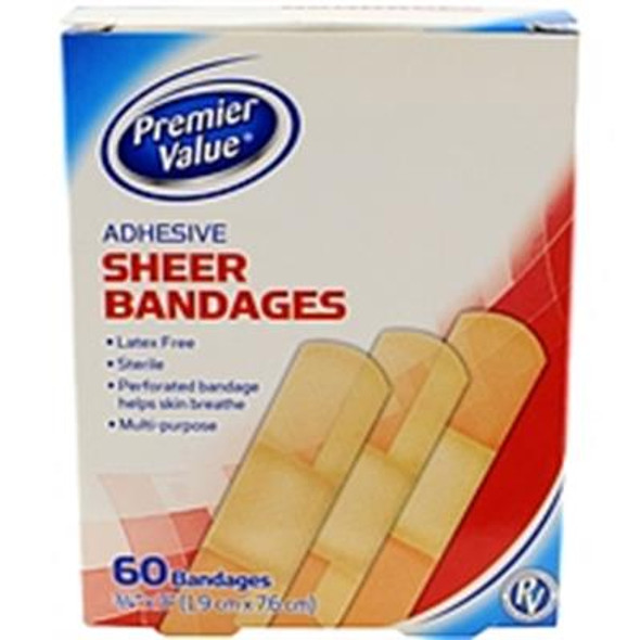 Premier Value Sterile Pads Nonadhere Adh - 10ct