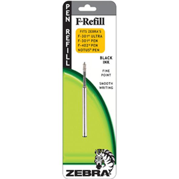 F-07Mm Pen Refill, Black, Fine - 1 Pkg