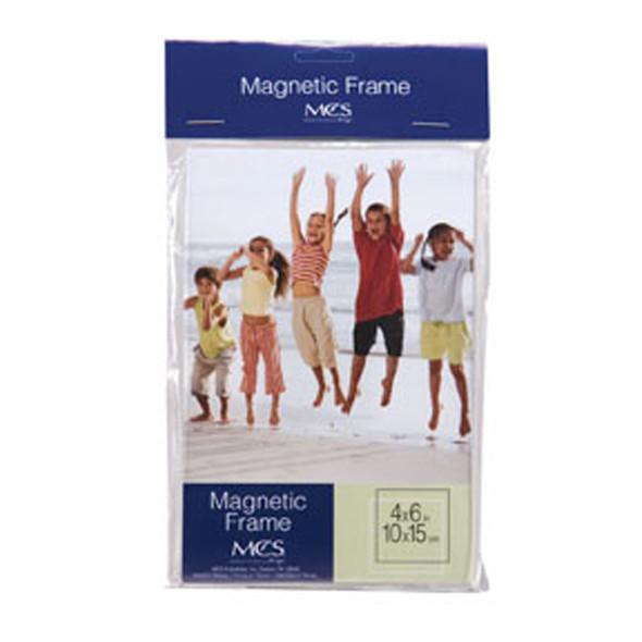 "Magnetic Acrylic Frame, Clear, 4X6"" - 1 Pkg"
