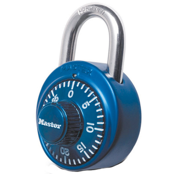 Padlock Combination W/Clear Dial - 1 Pkg