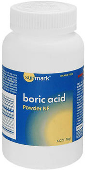 Sunmark Boric Acid Powder NF - 6 oz