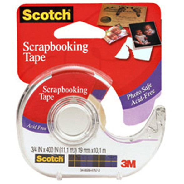 """Photo & Document Mending Tape, 3/4""""X400"""" - 1 Pkg"""