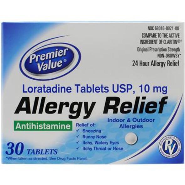 Premier Value Loratadine 10Mg - 30ct