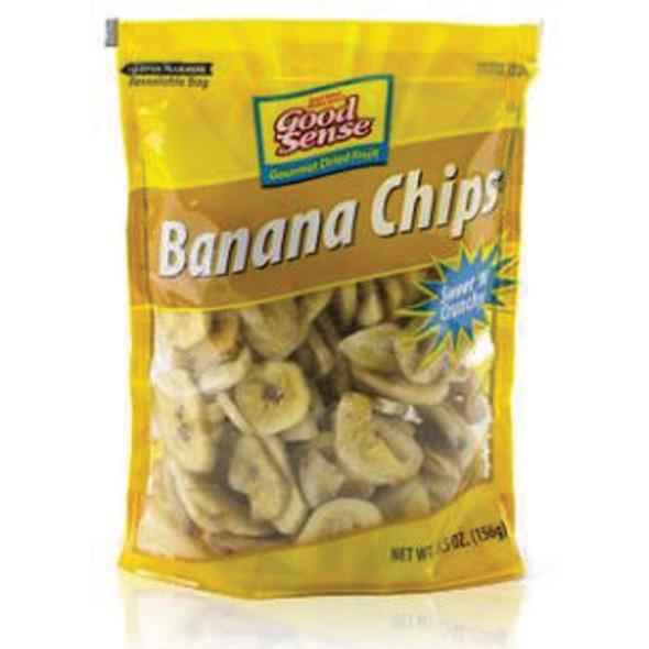 Banana Chips Snacks, 5.5 oz - 1 Bag