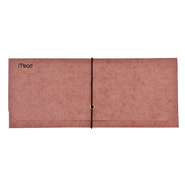 Red Wallet Expanding Envelope, 10X4.5""