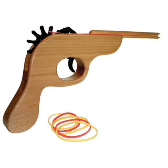 The Original Rubber Band Shooter, Solid