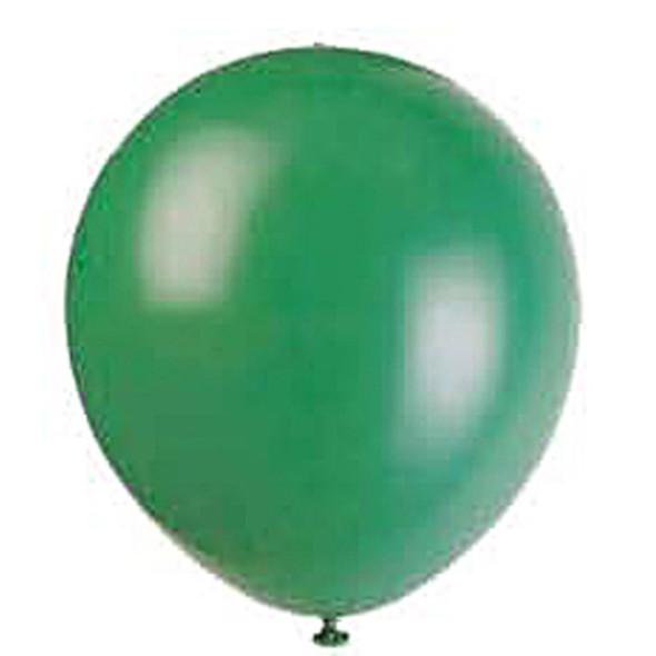 """Balloon, Forest Green, 12"""" - 1 Pkg"""