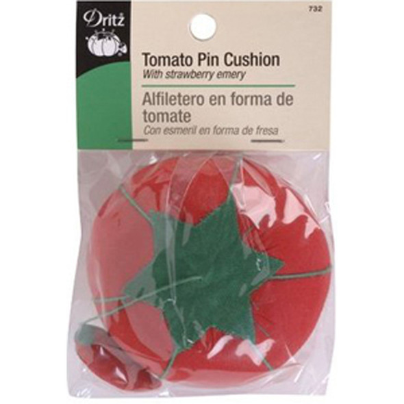 Tomato Pin Cushion - 1 Pkg