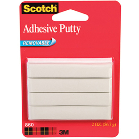 Removable Adhesive Putty, .2oz - 1 Pkg