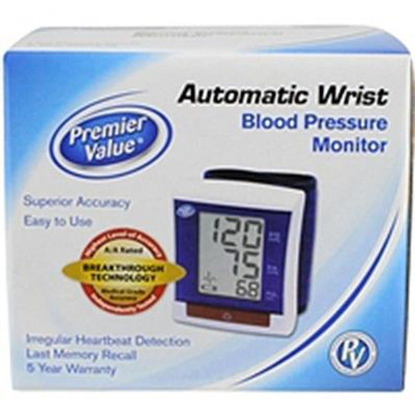 Premier Value Blood Pres Monitor Opp Wrist - 1ct