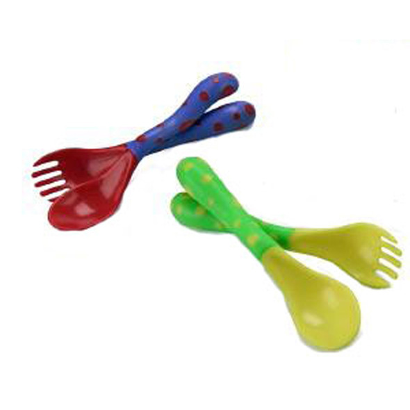 Fork & Spoon Utensil Set, Asst - 1 Set