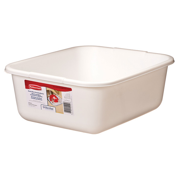 Dish Pan, White - 1 Pkg