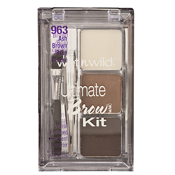 Wet N Wild Ultimate Eyebrow Kit, Ash Brown - 1 Pkg