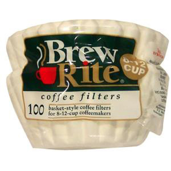 Brew Rite #8 Basket Coffee Filters, 100 Ct - 1 Pkg