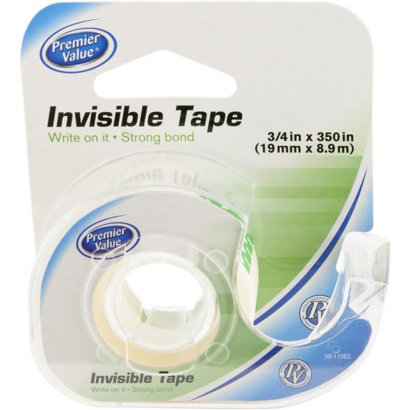 """Premier Value Invisible Tape 3/4"""" X 350"""" - 1ct"""