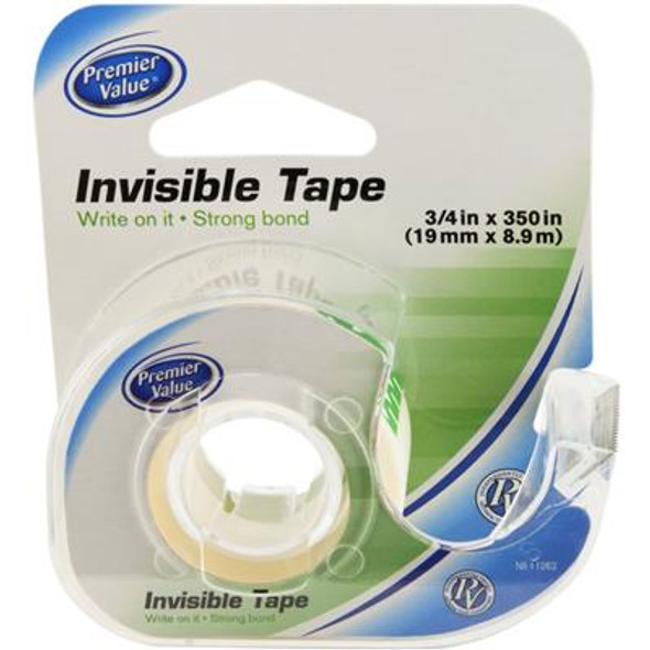 "Premier Value Invisible Tape 3/4"" X 350"" - 1ct"