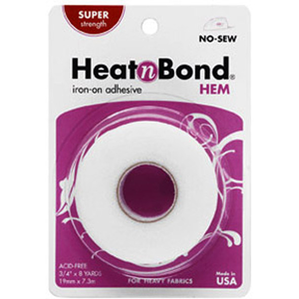 Heat 'N Bond Hem Iron-On Adhesive, 8 Yards, 3/4""