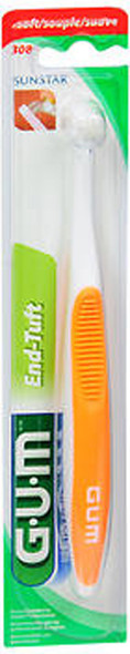 GUM End-Tuft Brush Soft