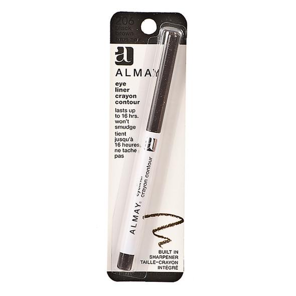 Almay Eyeliner, Black/Brown  - Each