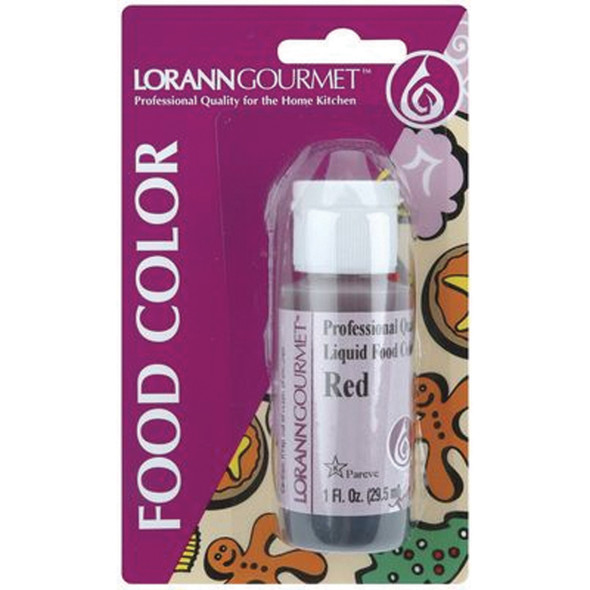 Food Coloring, Red, 1oz - 1 Pkg
