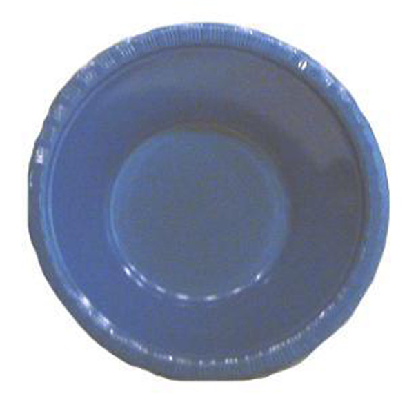 Plastic Bowl, Red, 12 oz - 1 Pkg